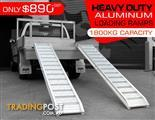 Digga [1800.kg] Aluminium Loading Ramps - Kanga / Dingo / Bobcat / Skid Steer Loading Ramps