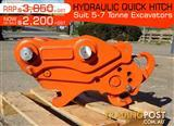 Kubota Hydraulic QUICK HITCHES Suits 5 to7T Excavators