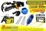Auger - Contractors Bulk Attachments PACKAGE [8 items]