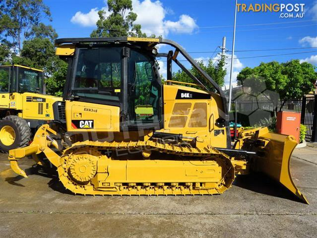 Caterpillar D4k Dozers Screens Sweeps Cat D4 Forestry Guard