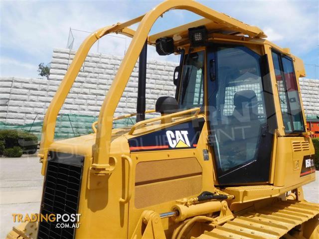 Caterpillar-D5G-XL-Dozers-Screens-Sweeps-CAT-D5-Forestry-guard