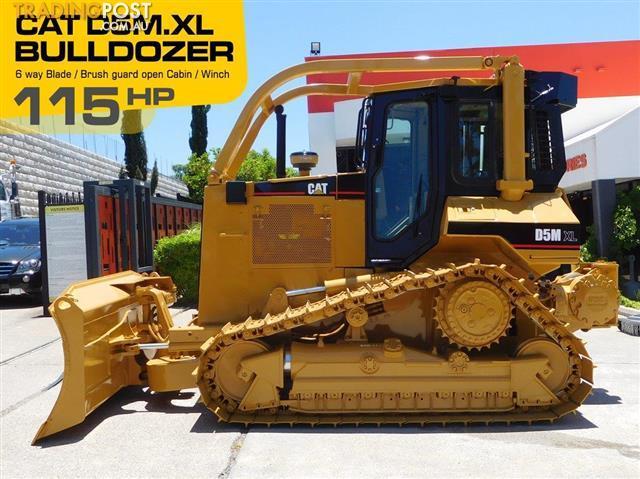 CATERPILLAR-D5M-XL-Dozer-CAT-D5-Bulldozer-with-AC-Cabin-Winch-Brush
