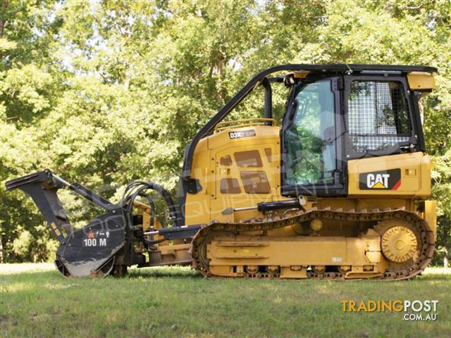 Caterpillar-D3K-D3K2-Dozers-Screens-Sweeps-CAT-D3-Forestry-guard