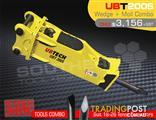 UBT200S Moil & Wedge Tools combo for Hydraulic Hammer