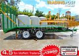 Interstate Trailers - 4500kg Custom build Moffett Forklifts Trailers 4.5 TON Tailgater Plant Trailer