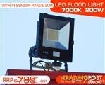 IP65 Water proof LED FLOOD Light 200W - 7000k.240V/50Hz.