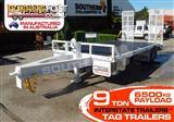 Interstate Trailers -- Heavy Duty 9 TON Tag Trailer With Tool box & Water tank