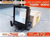 200W IP65 Water proof LED FLOOD Light - 7000k.240V/50Hz.
