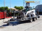 Bobcat 763 skid steer loader with Plant Trailer & attachment package on Sale !!
