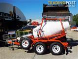 Interstate Trailers CMX1500 Mobi Concrete Mixer Concrete / Cement Mixer Trailer
