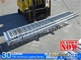 Aluminium Loading Ramps 3.0 Ton 3.3m long Rubber Series