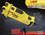UBT400S Flat wedge Tool for Rock Concrete Breaker