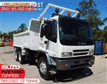 ISUZU Tipper Truck / 275HP FVZ1400 Rigid Truck - Very Low genuine, 65,000 KM