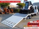 COMBO Terex R160T Track loader on ISUZU NPR300 BEAVERTAIL Truck