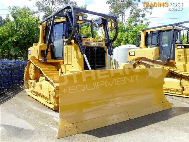 CATERPILLAR-D6T-XL-Bulldozer-CAT-D6-dozer-Forestry-pack-6690Hrs