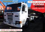 SCANIA Prime mover P82M 4x2 Truck and Low Loader Combo