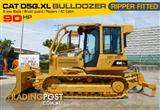 #2216 CATERPILLAR CAT D5G.XL Dozer / D5 Bulldozer with AC cab & Brush Guard [6350 hours]