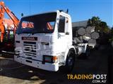 SCANIA P82M Prime mover Truck with Low Loader - 434,408 KM