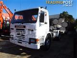 #2176a SCANIA 4x2 P82M Prime mover Truck 275HP with Low Loader 434,000 KM