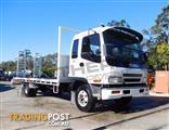 #2223B ISUZU 155HP Beavertail Truck FRR500 . Only 420,000 km.