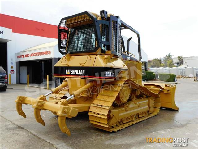 CATERPILLAR-D5N-XL-Bulldozer-CAT-D5-dozer-Forestry-Package-7500-Hrs