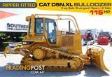 #2217B CAT D5N.XL Dozer / CATERPILLAR D5 Bulldozer with AC cab & Brush Guard [Low hours]