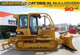 #2216 CATERPILLAR D5G.XL Dozer / CAT D5 Bulldozer with AC cab & Brush Guard [6350 hours]