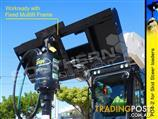 Digga PD4-2 Auger Drive Unit suit skid steer loaders up to 85LPM flow [ATTAUG]