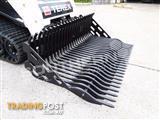 """1676 mm 66"""" Rock Bucket to suit skid Steer loaders / Skeleton GP Bucket"""