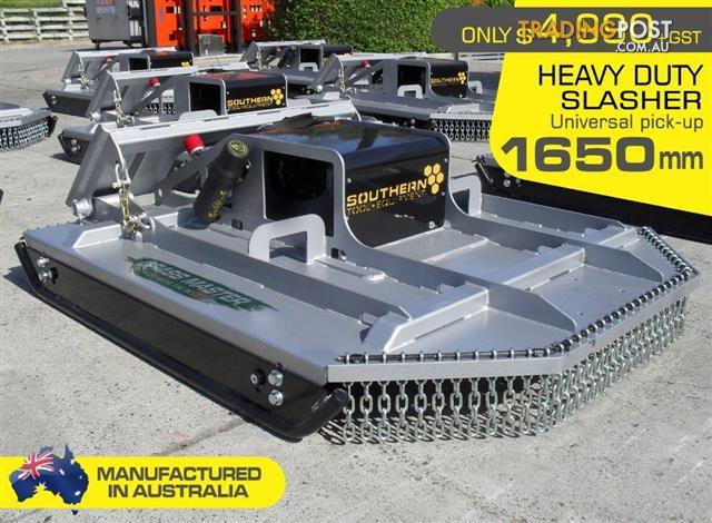 [5' Feet] 1650mm Caterpillar Skid Steer / track loaders Brush Cutter / Slasher Attachment.