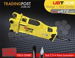 UBT30S Moil & Wedge Tools combo for Hydraulic Hammer