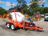 Interstate Trailers CMX 1300 Mobi Cement Mixer Concrete Mixing Trailer