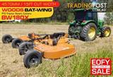 15 foot Woods Bat-Wing PTO Tractor Rotary Cutters BW180X