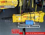 UBT50S Flat wedge Tool for Rock Concrete Breaker