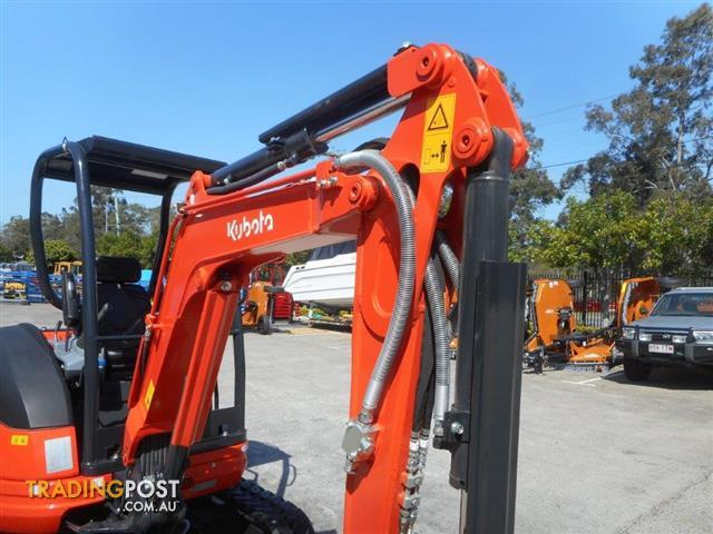 Kubota mini excavator package deals