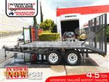 Interstate Trailers 4500kg ATM Custom build Tailgater Forklifts Plant Trailers