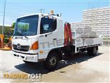 #2245c Hino FD1J Tipper Truck with crane, only 140,000Kms