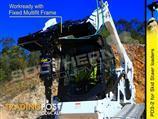 Digga PD3 Auger Drive Unit suit skid steer loaders up to 75LPM flow