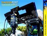Digga PD4-5 Auger Drive Unit suit skid steer loaders up to 85LPM flow
