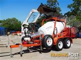 Interstate Trailers CMX1500 Cement Mixer Trailer / Mobi Concrete Mixer Concrete