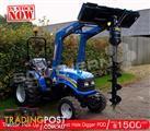 DIGGA PDD Farm Tractor & Front loaders Post Hole Digger