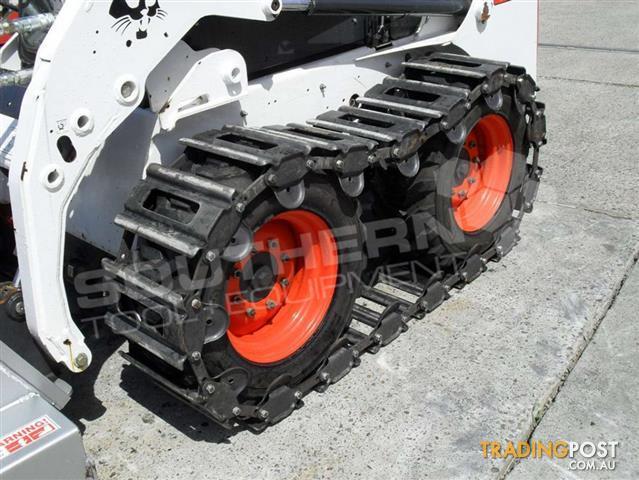 Ott Steel Tracks 10 X 16 5 Skid Steer Loader Over The Tire Tracks