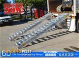 Aluminium Loading Ramps 6.0 Ton 500mm Wide Rubber Series