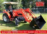 DIGGA 1727 mm 4 in 1 Bucket suit Tractor Front End Loader