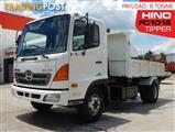 Hino FC-1018 500-Series Tipper Truck, only 169,848Kms 2009 model #2243