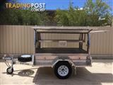 7x4 Tradesman Aluminium Canopy Trailer