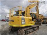 Komatsu PC130-8 Excavator & attachments