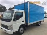 2007 FUSO CANTER BLUE PAN