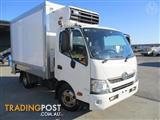 2011 HINO 300-616 FRIDGE PAN