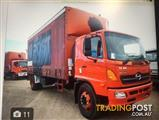 2006 HINO GH RED TAUTLINER